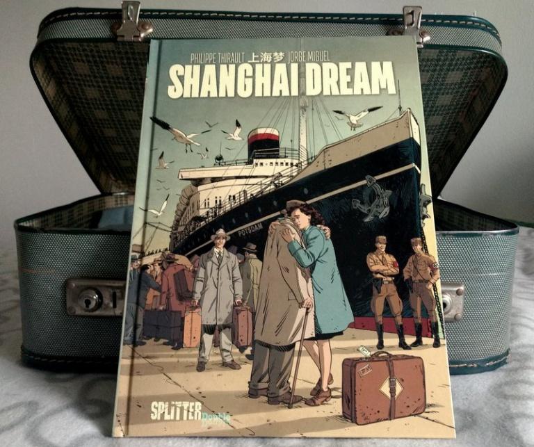 """ Comic  """"Shanghai Dream"""""""