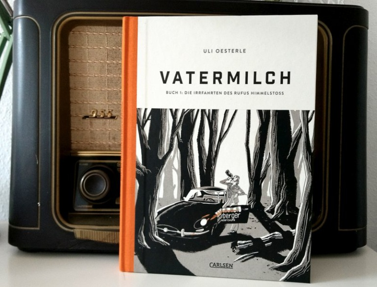 " Comic  ""Vatermilch"""