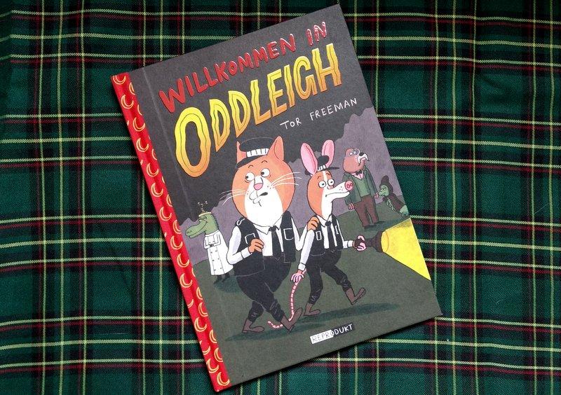 "|Comic| ""Willkommen in Oddleigh"""