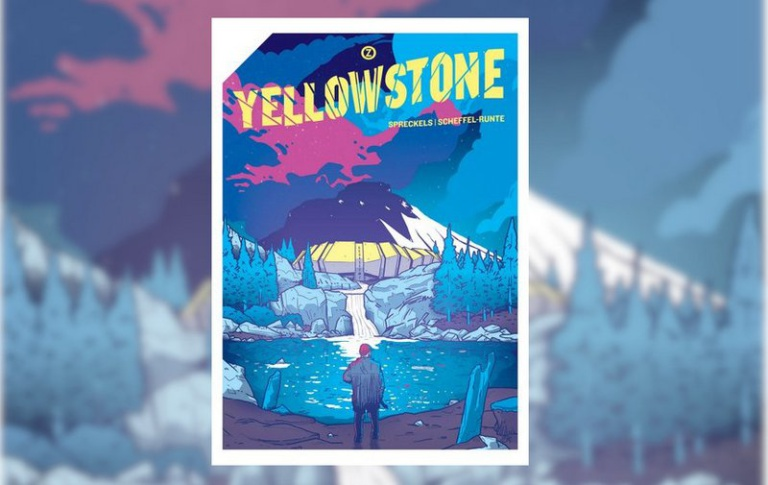 "|Comic| ""Yellowstone"""