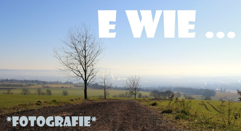 """ Fotografie  """"E wie …"""""""