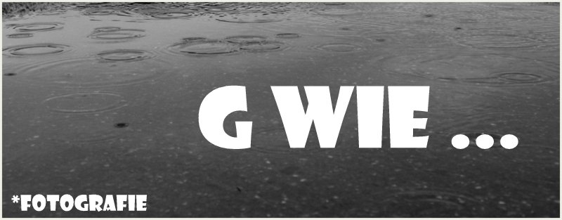 "|Fotografie| ""G wie …"""