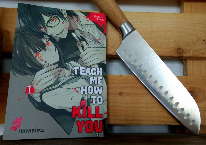 "|Manga| ""Teach me how to kill you"""