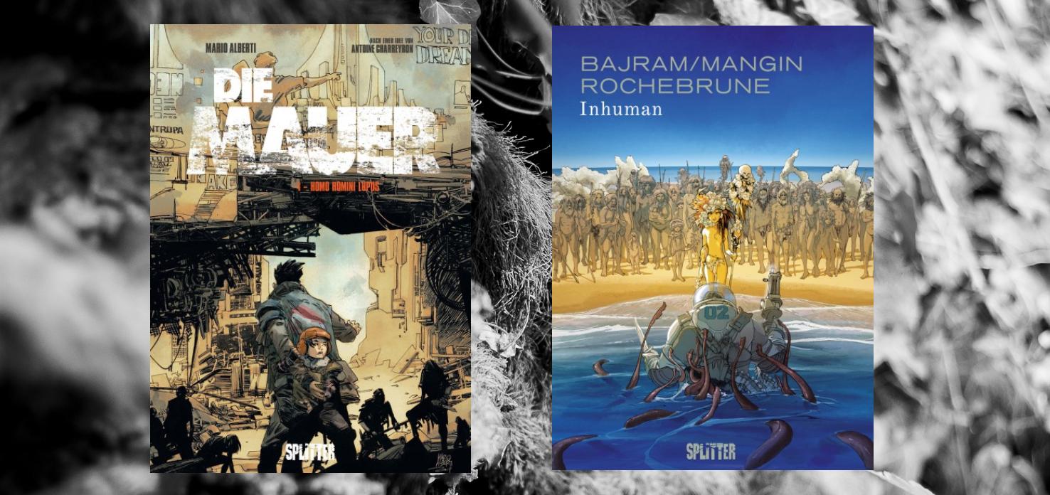 """ Comic  """"Die Mauer + Inhuman"""""""